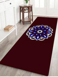Mandala Pattern Anti-skid Water Absorption Bohemian Area Rug