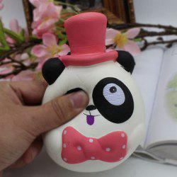PU Slow Rebound Simulation Toy Squishy Panda - RED