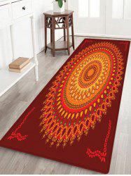 Boho Mandala Pattern Anti-skid Water Absorption Area Rug