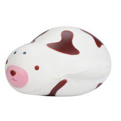 Simulation Toy PU Slow Rising Squishy Cute Seal - COFFEE