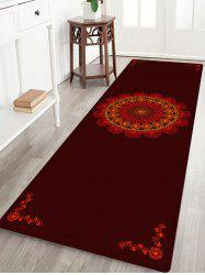 Mandala Boho Pattern Anti-skid Water Absorption Area Rug