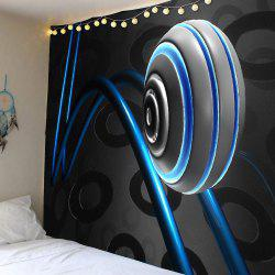 Waterproof 3D Ball Track Wall Hanging Tapestry