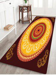 Mandala Pattern Anti-skid Water Absorption Boho Area Rug