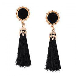 Tassel Sun Drop Earrings