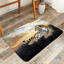 Anti Slip Floor Tiger Animal Bathroom Rug