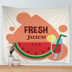 Watermelon Juice Print Tapestry Wall Hanging Art Decoration -