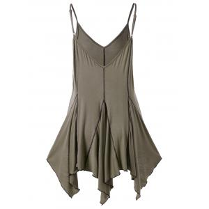 Handkerchief Cut Out Tank Top -