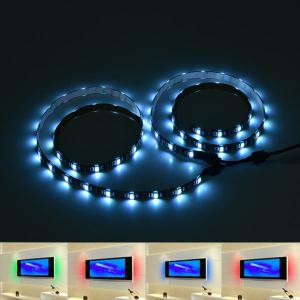 APP Control USB Smart Bluetooth LED 2pcs TV Light Strip - Colorful - 20*13*6cm