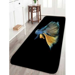 Skidproof Betta Fish Print Area Rug