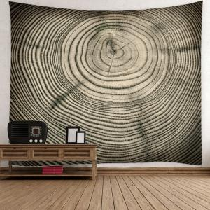 Tree Growth Ring Bedspread Wall Art Tapestry