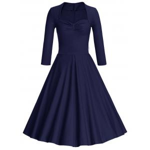 Sweetheart Neck Vintage Party Skater Dress