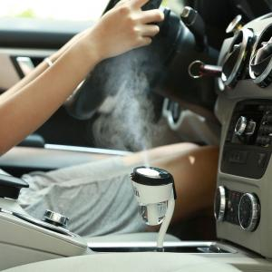 USB Mini Creative Aromatherapy Car Humidifier
