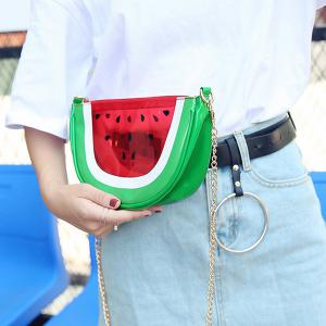 Transparent Fruit Crossbody Bag -