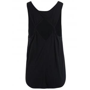 Cut Out Back Tank Top