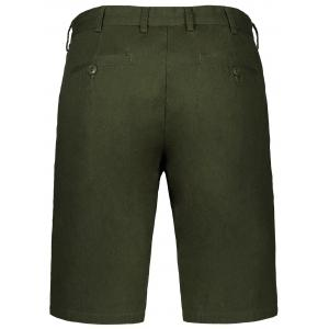 Zip Fly Men Shorts - GREEN 34