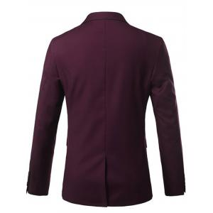 One Button Lapel Casual Blazer -
