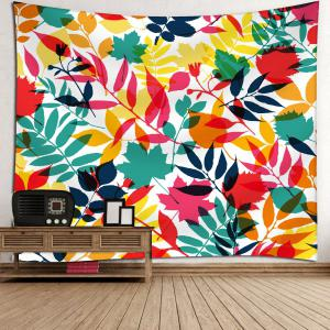 Tropical Leaves Waterproof Wall HangingTapestry -