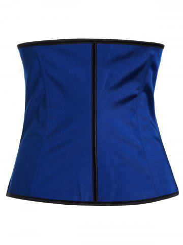 Outfit Steel Boned Underbust Corset - XS BLUE Mobile