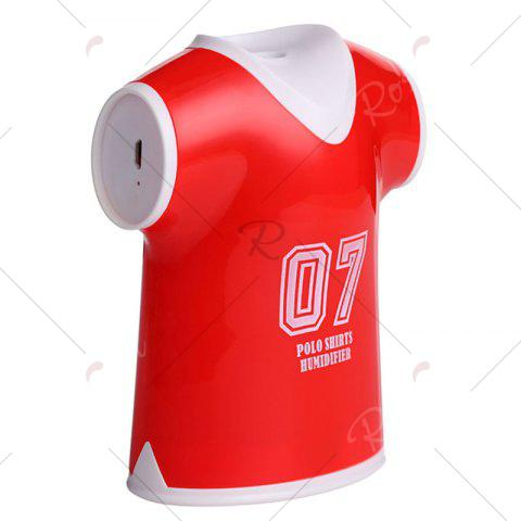 Fancy Mini USB Air Purifier Polo Shirts Humidifier - RED  Mobile