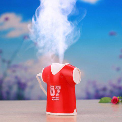 Discount Mini USB Air Purifier Polo Shirts Humidifier - RED  Mobile