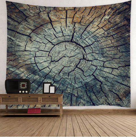 Unique Stump Texture Print Wall Decorative Tapestry - W59 INCH * L51 INCH COLORMIX Mobile