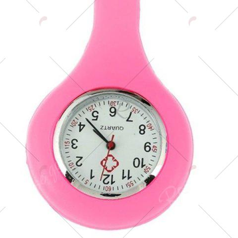 Trendy Nurses Silicone Fob Watch - PINK  Mobile