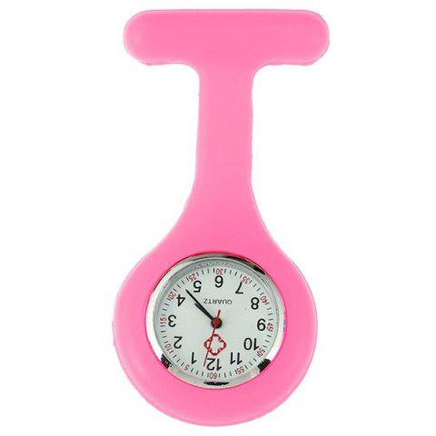 New Nurses Silicone Fob Watch - PINK  Mobile