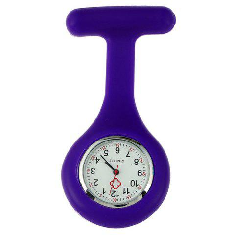 Unique Nurses Silicone Fob Watch - PURPLE  Mobile