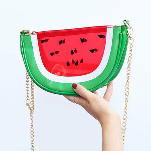 Outfits Transparent Fruit Crossbody Bag RED