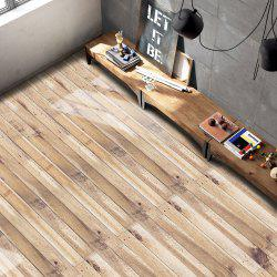 Home Decor Wood Grain Print Vinyl Floor Sticker