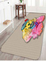 Golden Retriever Home Decor Coral Fleece Area Rug