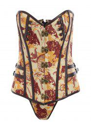 Lace Up Steampunk Corset Top