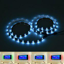APP Control USB Smart Bluetooth LED 2pcs TV Light Strip - COLORFUL