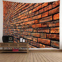 Wall Hanging Vintage Brick Tapestry For Home Decor
