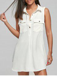 Pockets Shirt Dress