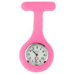 Nursery Silicone Fob Watch - ROSE PÂLE