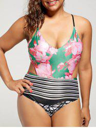 Cut Out High Waisted Swimsuit