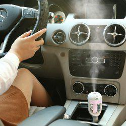 Mini humidificateur de voiture Creative Aromatherapy - ROSE PÂLE