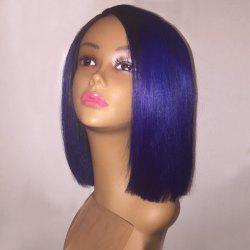 Short Side Parting Straight Bob Synthetic Wig