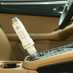USB Moisturizing Mist Mini Nebulizer Steamer for Car - WHITE