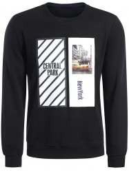 Graphic Print Pullover Men Sweatshirt