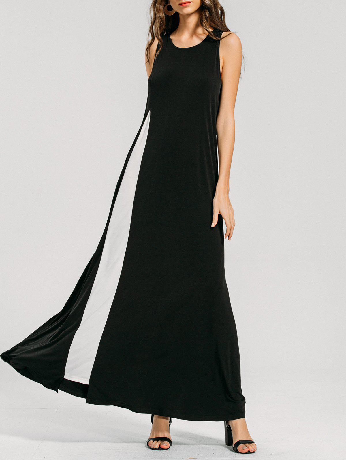 Online Two Tone Swing Maxi Dress