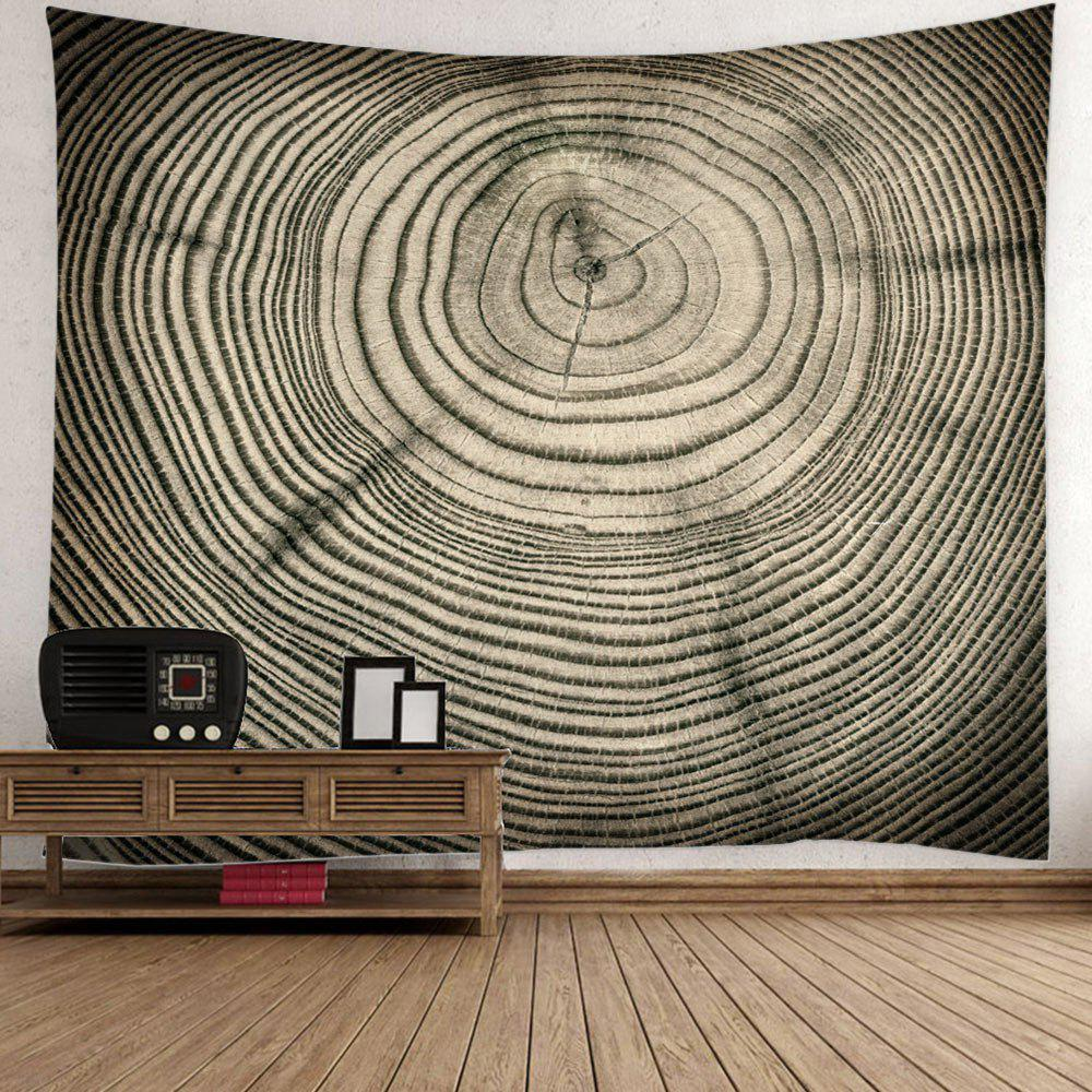 Unique Tree Growth Ring Bedspread Wall Art Tapestry