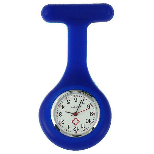 Nurses Silicone Fob WatchJEWELRY<br><br>Color: BLUE; Gender: For Unisex; Style: Formal; Type: Pocket watch; Index Dial: Analog; Case material: Alloy; Band material: Silicone; Movement: Quartz; Dial Shape: Round; Water-Proof: No; Dial Diameter: 4cm; Band Length(CM): 9cm; Package Contents: 1 x Watch;