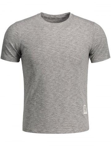 Outfit Space Dye Mens Top - 2XL GRAY Mobile