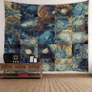 Stump Texture Fabric Throw Wall Hanging Tapestry
