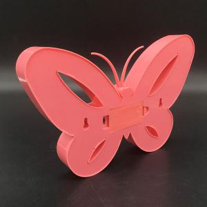 Home Decor Butterfly LED Night Light - Rouge