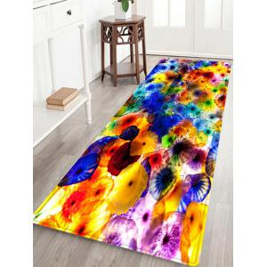 Colorful Pattern Water Absorption Indoor Outdoor Area Rug - Colormix - W24 Inch * L71 Inch