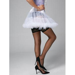 Light Up Ruffles Tutu Voile Cosplay Skirt -