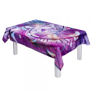 Oilproof Waterproof Pigeon Digital Printing Table Cloth -